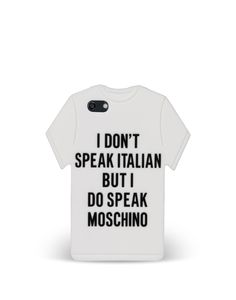 Moschino also has phone cases. The average price is like..$85.