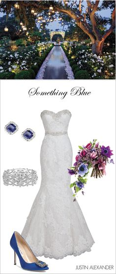 Wedding Day Look: Enchanted Garden Affair, Brought to you by @jabridal