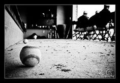 baseball players in background photography