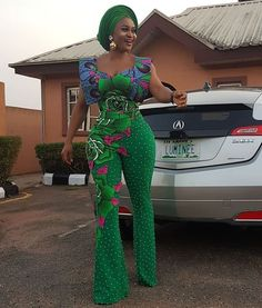 There are millions of ways you can slay with your Ankara fabrics no matter event you want to rock it to there is a style that will fit both your… African Print Jumpsuit, Ankara Jumpsuit, African Print Dresses, African Dress, African Outfits, African Clothes, African Lace, African Prints, African Fashion Ankara