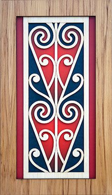 This Maori Koru Rimu Wall Panel is a beautiful contemporary example of art. Made from New Zealand native rimu veneer, the panel measures approximately. Art Maori, Maori Patterns, Maori Designs, New Zealand Art, Nz Art, Examples Of Art, Kiwiana, Sculpture Art, Metal Sculptures