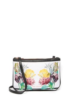 Ted Baker London - Gardina Tranquility Double Pouch Crossbody Bag is now 50% off. Free Shipping on orders over $100. Ted Baker, Crossbody Bag, Pouch, London, Nordstrom Rack, Leather, Bags, Free Shipping, Handbags
