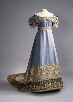 REGENCY: Your highness, would you be kind enough to allow me to borrow your gown? Oh, you wore it for your coronation? I shall be most careful then. (1820)