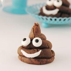 Emoji Poo Cookies!