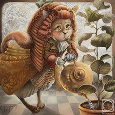 Кошки Надежды Соколовой: 6 тыс изображений найдено в Яндекс.Картинках