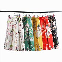 Cheap spring raccoon, Buy Quality skirts spring directly from China skirt hippie Suppliers:           One size:Waist:64-82cm,Length:61cm          Side Zipper; Elastic Waist;       Polyester; Non-stretchable Mater