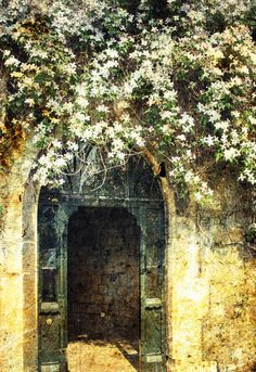 Garden Gate at Windsor Castle England United by AnnaDelores, $25.00