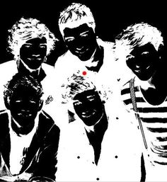 Stare at the red dot for 30 seconds then blink at a blank wall or ceiling