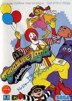 McDonald's Treasure Land Adventure for SEGA Mega Drive