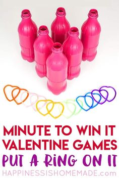 These Valentine games are perfect for all ages - challenging enough for older kids and adults, but still simple enough that younger children can join in the fun! Valentines Games For Couples, Valentine Games, Valentines Puns, Valentine Crafts For Kids, Valentines Day Activities, Valentines Gifts For Boyfriend, Valentines Day Party, Valentine Ideas, Kid Crafts