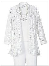 Ming Lace Cardigan Separates | Drapers