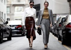 Milan Fashion Week Street Style Spring 2019 Day best Street Style looks from the Milan Women's Spring 19 shows and fashion week. Milan Fashion Week Street Style, Spring Street Style, Milan Fashion Weeks, Cool Street Fashion, Street Style Looks, Italian Chic, Italian Women, Beautiful Figure, Comfortable Outfits