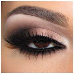 brown eyes - make up