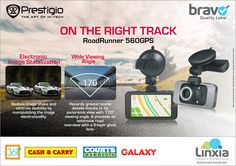 Linxia Ltd - On the right track with Prestigio RoadRunner 560GPS. Tel: 405 7400