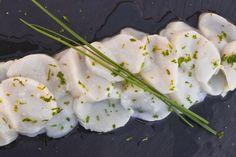 Ceviche de pétoncle à la lime