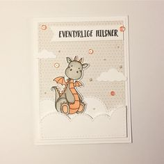 Ohhhh this magical dragon makes me smile ☁️☺ #mitkammer #copicmarkers #mftstamps #magicaldragons #cardmaking #cardmagic #cardmakinghobby #craftygirl #dragon #clouds #puffyclouds #pastels #peach #peachy #magical #eventyrligehilsner #sequins #happytime