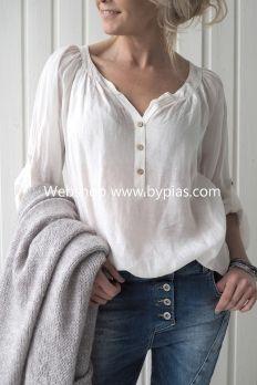 BOHO HIPPY Shirt, White
