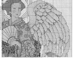 Japanese Angel - 5/9 Solo Patrones Punto Cruz (pág. 327) | Aprender manualidades es facilisimo.com