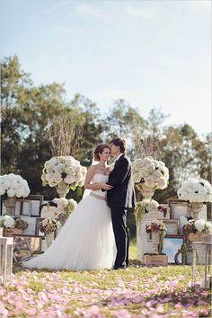 romantic wedding ceremony ideas