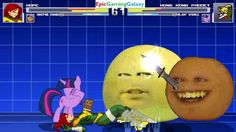 Annoying Orange & Hope VS Hong Kong Phooey & Twilight Sparkle In A MUGEN Match / Battle / Fight This video showcases Gameplay of Twilight Sparkle From The My Little Pony Friendship Is Magic Series And Hong Kong Phooey The Superhero VS Hope Summers The Superheroine And The Annoying Orange In A MUGEN Match / Battle / Fight