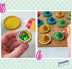Se aproximan las fechas patrias, ¿qué tal si preparamos unos divertidos panecitos? #Ensueño #cupcakes #pastel #postre #Receta #pan