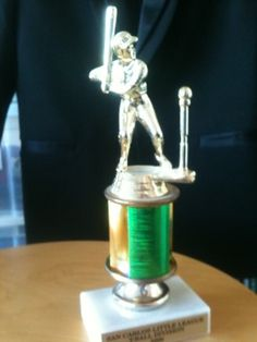 Day 693: Baseball Trophy