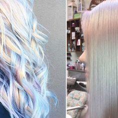 Holograficzne włosy: błyszcząca, prawie przezroczysta koloryzacja o magicznym efekcie