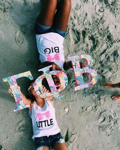 big little reveal | Big little | Gamma Phi beta | Big | Little | Big little t shirts | Big little shirts | Lilly Pulizter Greek Letters | Greek Wooden Letters | Big little gifts | Gamma Phi Beta at Coastal Carolina University