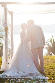 whimsical bride & groom