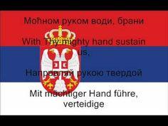 National Anthem of Serbia with Lyrics (Serbian, English, Russian, German) - YouTube