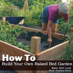 How To Build Your Own Raised Bed Garden