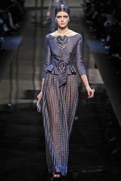 Giorgio Armani Privé Couture Spring 2014 - Slideshow - Runway, Fashion Week, Fashion Shows, Reviews and Fashion Images - WWD.com
