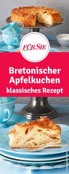 Bretonischer Apfelkuchen klassisches Rezept Fun Cupcakes, Amazing Cupcakes, Strudel, French Toast, Muffins, Food Porn, Cooking Recipes, Baking, Breakfast