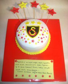 galatasaray pastası Snapchat, Muffin, Football, Cake, Desserts, Food, Bern, Balcony, Kuchen