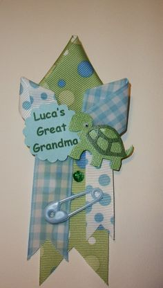 Grandma's Baby Shower Corsage  Small Family by CrazyCraftFrog, $12.00