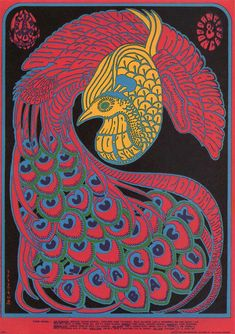 Quicksilver Messenger Service at the Avalaon Ballroom in March 1967. Artwork by Victor Moscoso.