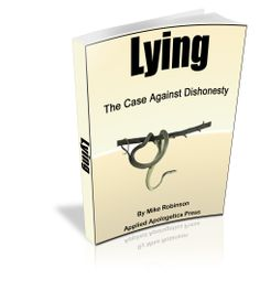 """new Apologetics book: An Answer to """"Lying"""" by Sam Harris: A Case Against Deception"""""""