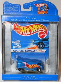 HOTWHEELS 30th Anniversary Authentic Commemorative Replica VW BUS #HotWheels