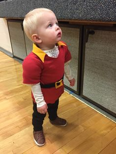 gaston costume for baby boy