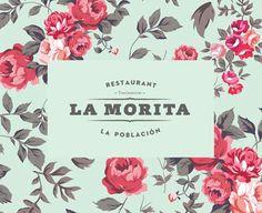 La Morita restaurant identity by Paula Mastrangelo Brand Identity Design, Graphic Design Typography, Branding Design, Logo Design, Design Design, Behance, Typography Inspiration, Design Inspiration, Album Design