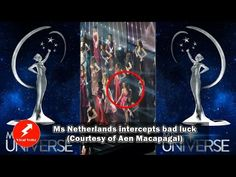 Youtube Video: Miss Universe 2016 : Ms. Netherlands Intercepts Bad Luck Video Posted on Facebook Courtesy of Aen Macapagal #MsNetherlands is basically me trying to intercept all the bad luck in lif…