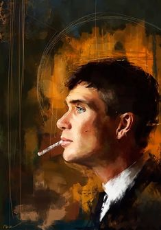 Art-Poster 50 x 70 cm - Tommy Shelby - Wisesnail - Peaky Blinders Movie Fan-Art Illustration. Art-Poster and prints published by Wall Editions. Peaky Blinders Poster, Peaky Blinders Wallpaper, Jean Michel Basquiat, Peaky Blinders Tommy Shelby, Portraits, Canvas Prints, Art Prints, Cillian Murphy, Sell Your Art