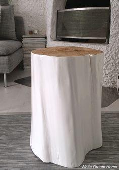 White Dream Home: DIY- Moderni monikäyttöinen pölkky