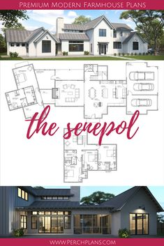 The Senepol plan! 3525 sqft, 4 bed, 3 bath modern farmhouse design! Now available for purchase!