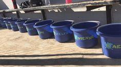 Skull crusher softball team buckets