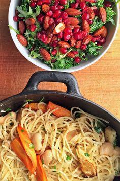 Spaghetti med bakte r tter og limeb nner - The world's most private search engine Frisk, Spaghetti, Ethnic Recipes, Food, Essen, Meals, Yemek, Noodle, Eten