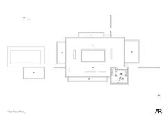 Black House,First floor plan