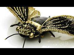 "Eve Anders Accessories - Unique Brooch ""Cicada Кi"" - YouTube"
