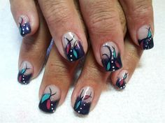 My Hippie Dress - Nail Art Gallery by NAILS Magazine
