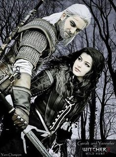 Geralt & Yennefer from Witcher 3  Cosplayers: Zephon Cos & Azure Cosplay   Photographer: Yann Champion